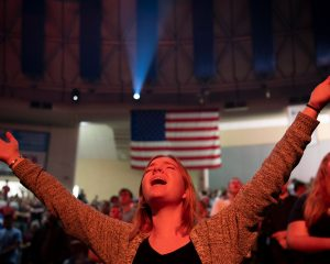Republicans can count on evangelical media. But later on;