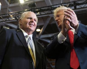 "Rush Limbaugh: America is a ""big nation at risk"" without Donald Trump"