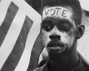 African Americans bleed, died to vote