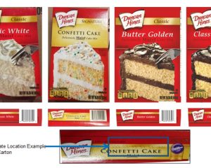 2.4 million cake mix boxes can be infected
