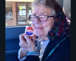 Texas's first voter, 82, dies after the vote