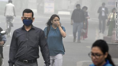 Breathing in Delhi air is equivalent to smoking 44 cigarettes a day