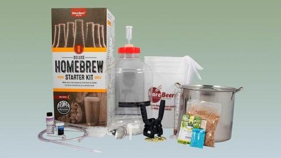 Best Gifts for Dad - MoreBeer Home Brewing Kit