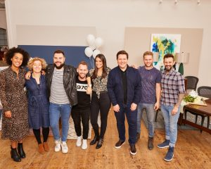 The indoor style hunter participates in the British Heart Foundation Makeover Challenge
