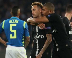 Napoli and PSG sharing point, the team is open