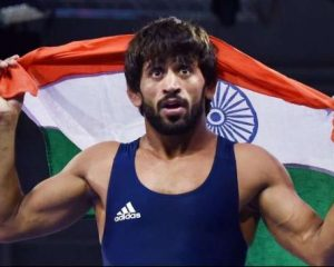 India's Bajrang Punia is not a world wrestler in the 65 kg category
