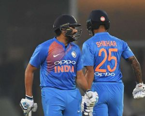 That's what Rohit told Dhawan after India's clean sweep, West Indies 3-0 in the T20I series