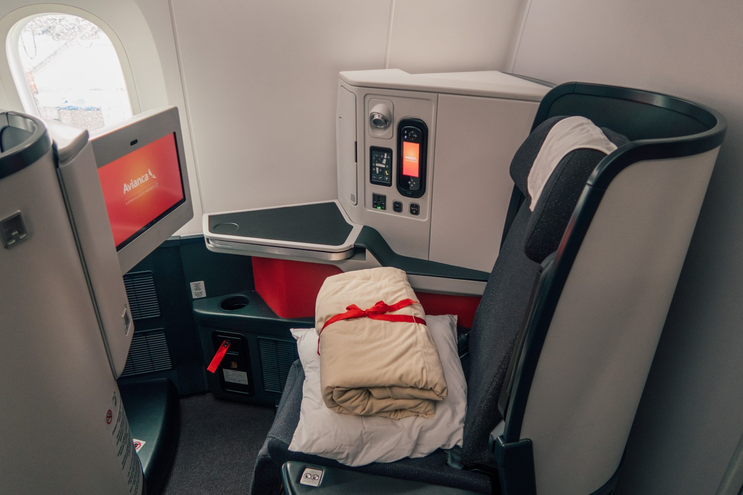 Avianca Business Class from Los Angeles to Bogota