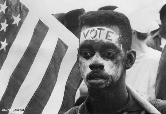 Scenes from the second course of civil rights in Selma, Al. March 25, 1965