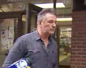 Alec Baldwin was arrested for allegedly falling over a car park