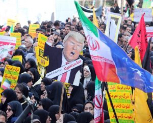As Trump restores sanctions, Iranians rallied on the anniversary of the acquisition of the US Embassy