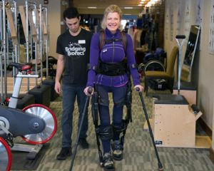 Bionic's wife helps others thrive after paralysis