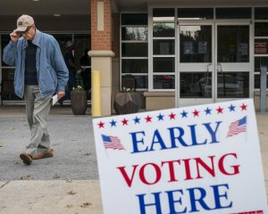 Early voter turnout in 27 states exceeds the total early vote for 2014