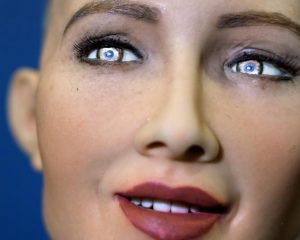 How Sophia the robot copies human facial expressions