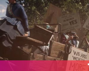 Killing a suffragette in Red Dead Redemption 2 says something for you