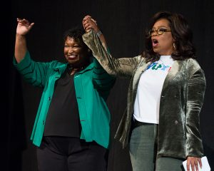 Robocall racist targets Oprah, Stacey Abrams in Georgia governor race