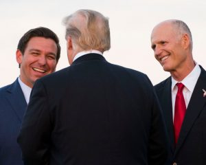 Ron DeSantis, a truce ally, is fighting in Florida as a racial popular people