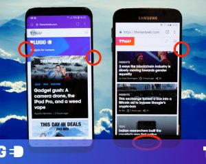 See how you download a screenshot on your Samsung Galaxy phone