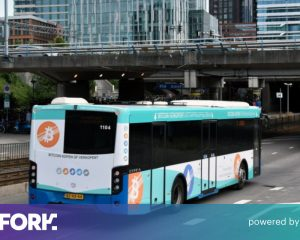 This exchange turned a bus into Bitcoin advertising to bypass Google's encryption ban