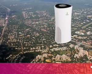 This launch wants to remove pollution from Delhi with a tower that eats the cloud