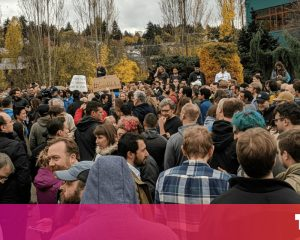 Thousands of Google employees go out to protest for harassment, inequality
