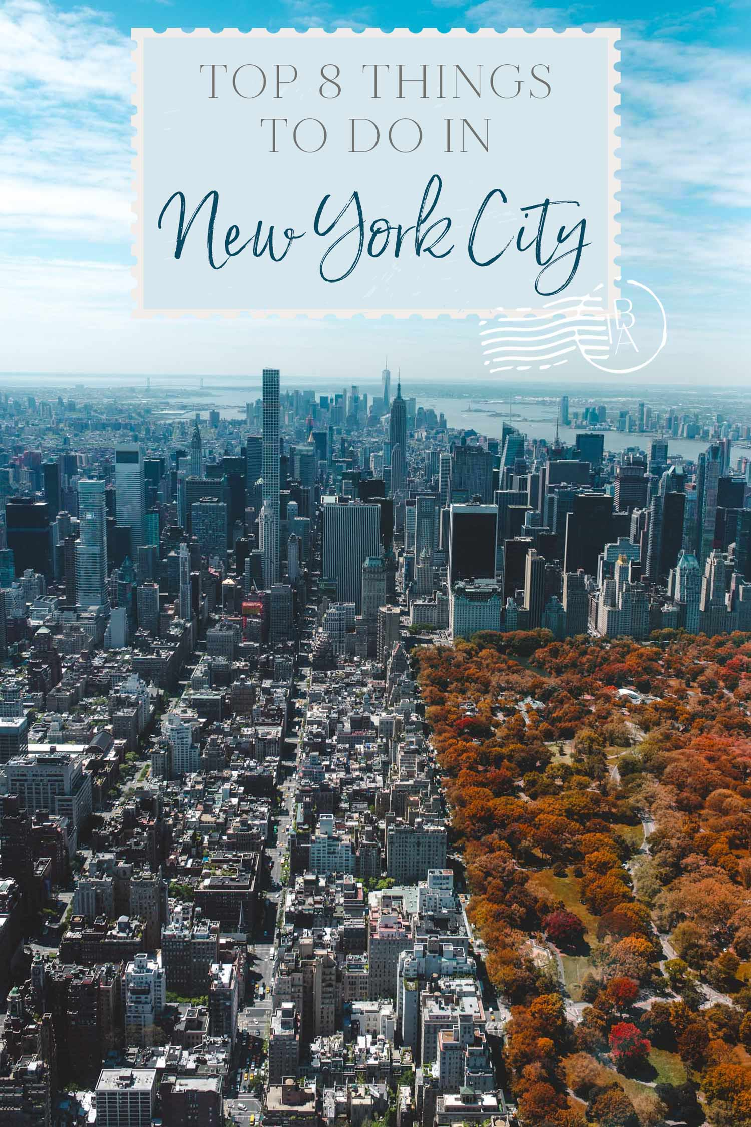 Top 8 things to do in New York