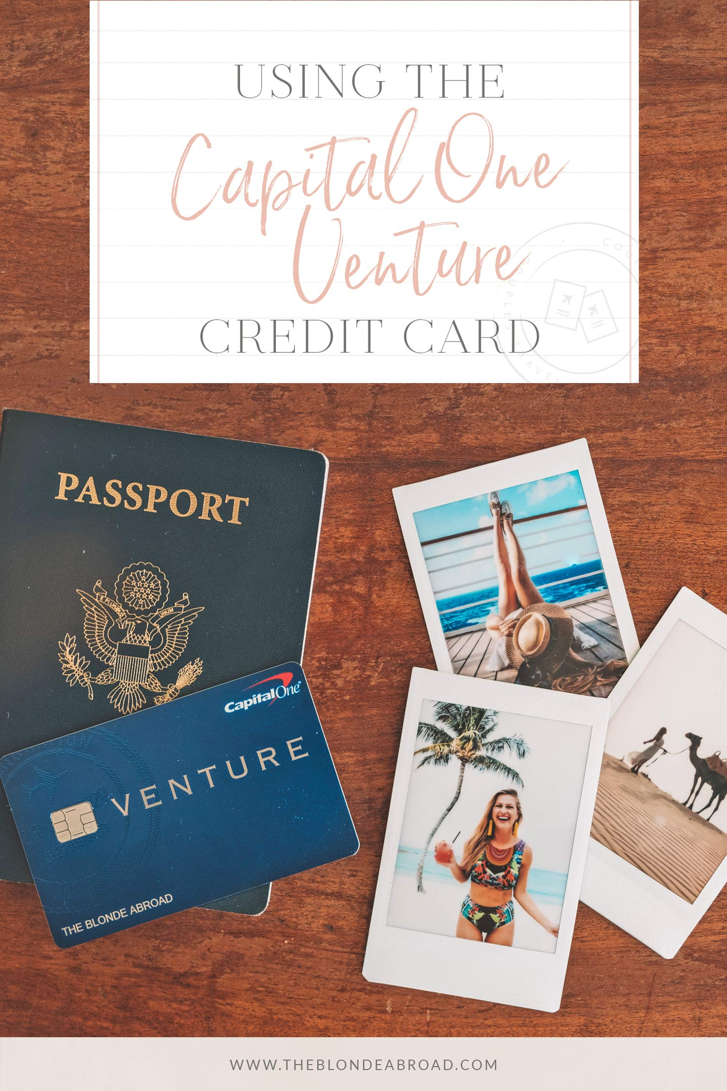 Using the Capital One Venture credit card