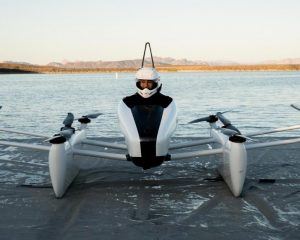 We took an exclusive ride on a flying car