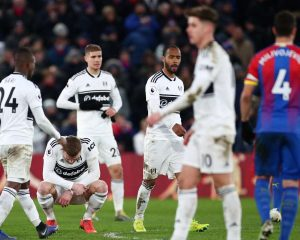 Fulham is only a side without winning this season, losing to Crystal Palace