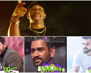 """Champion"" Dwayne Bravo presents the new song ""Asia"" with MS Dhoni, Virat Kohli, Shahid Afridi"