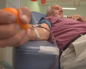 Give blood every week for 60 years and save the lives of 2.4 million babies