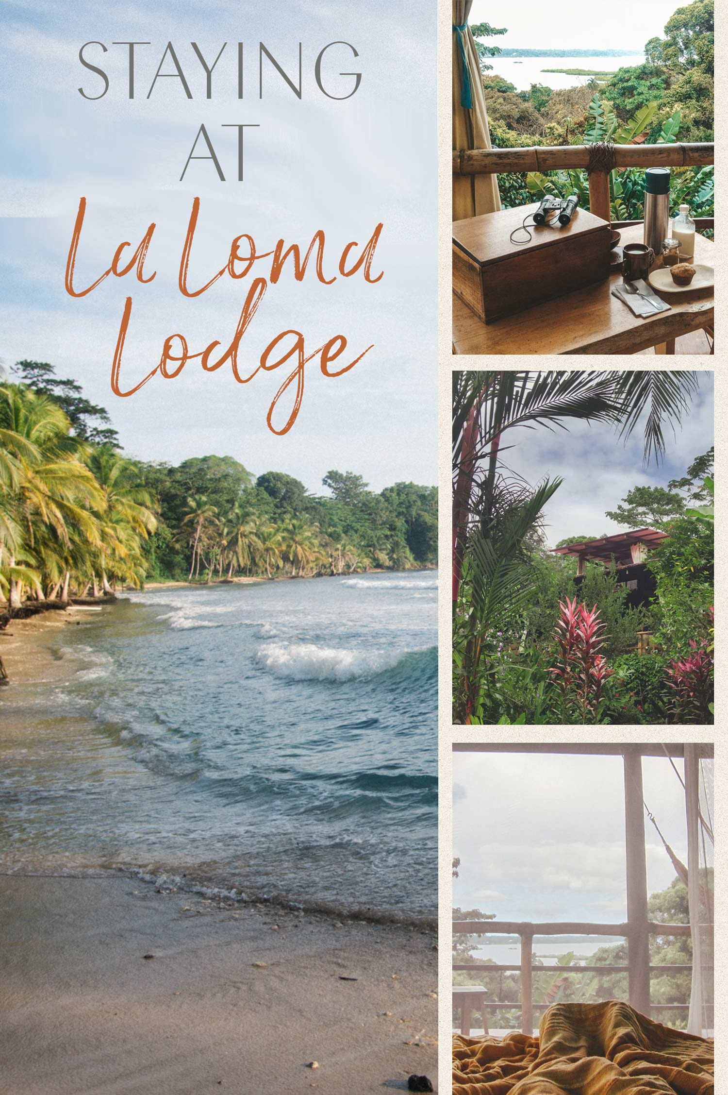 Accommodation in La Loma Lodge