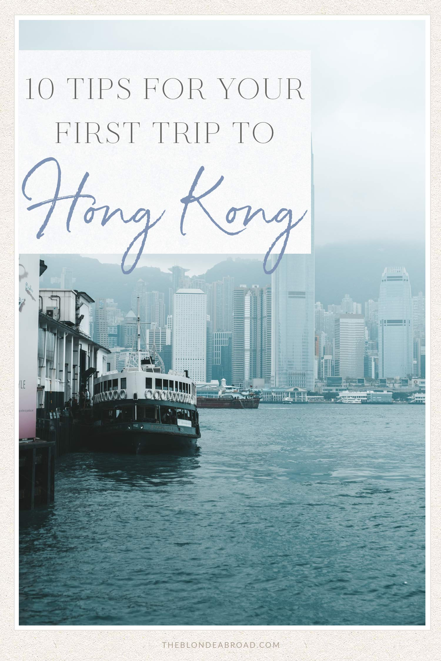 10 tips for your first trip to Hong Kong