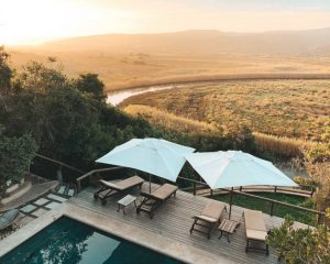 Accommodation at Emily Moon River Lodge at Plettenberg Bay • Blonde on the outside