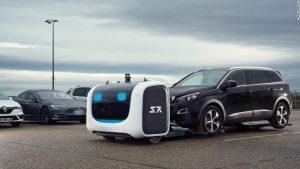 Robot vouchers can get cars at this London airport soon