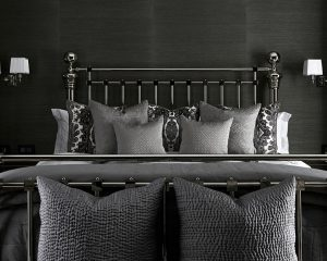 How to draw a luxurious bedroom