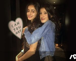 Ananya Panday's BFF Shanaya Kapoor has a Senti message for student of the year 2 Debutante