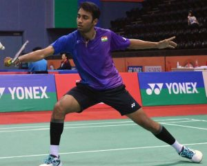 National champion Sourabh Verma validates men's title