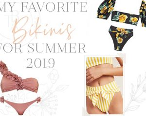 My favorite bikini for the summer of 2019 • Blonde on the outside