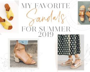 My favorite sandals for the summer of 2019 • Blonde on the outside