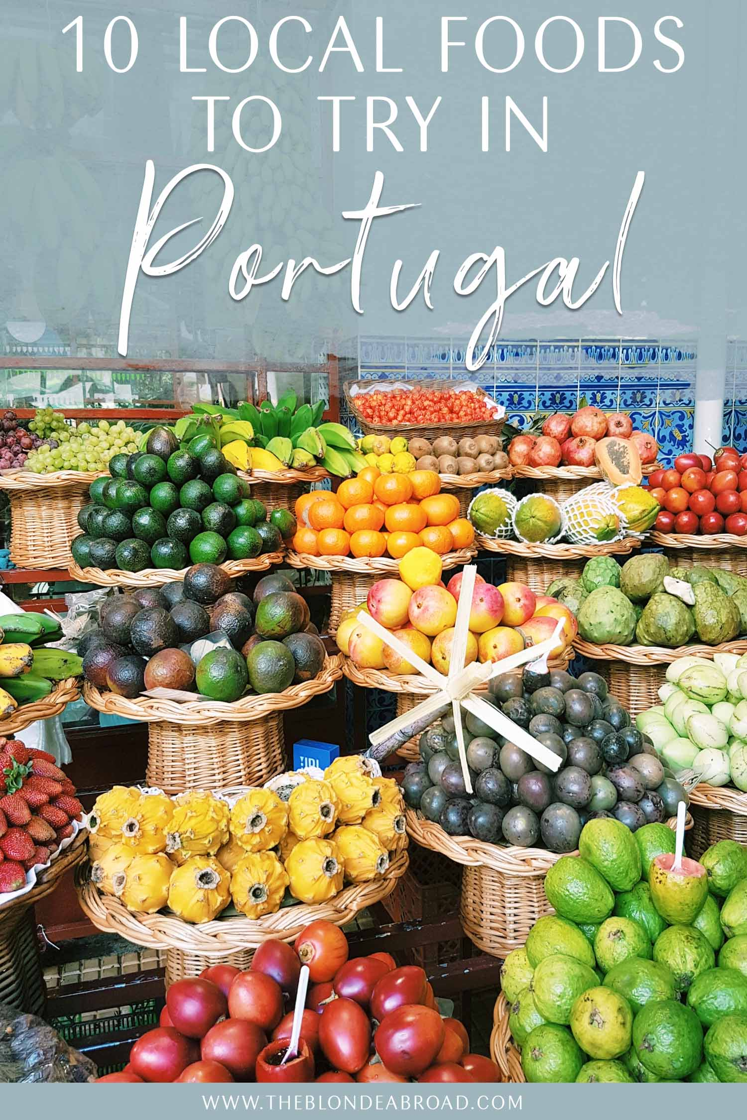 Local food to try in Portugal