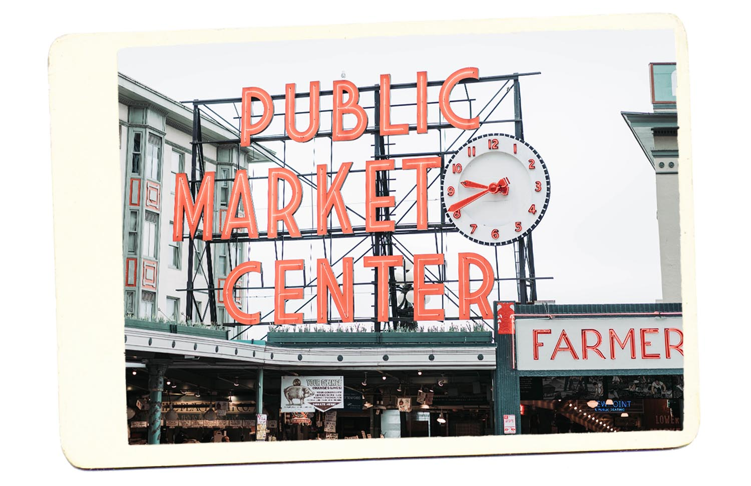 Seattle Public Market Log Center