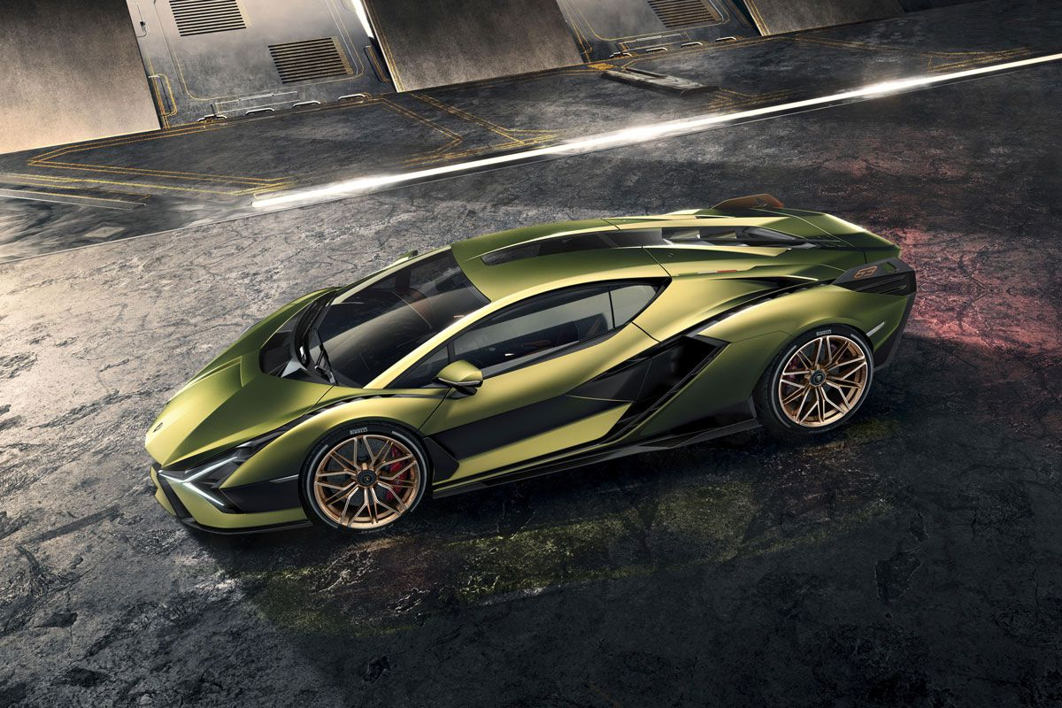 The Lamborghini Sián has already been sold - there are only 63 in the world.