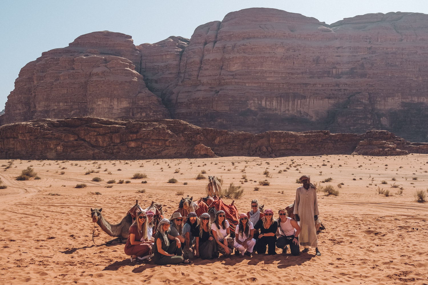 Group excursion to Wadi Rum