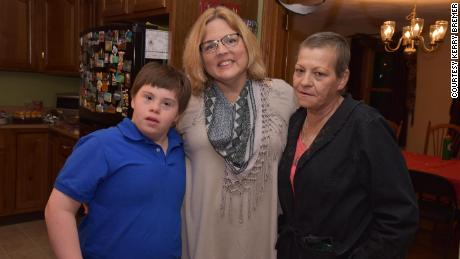 Jake Manning is boxing with his mom Jean Manning, right, and Kerry Bremer, who sometimes calls Kerrymom.