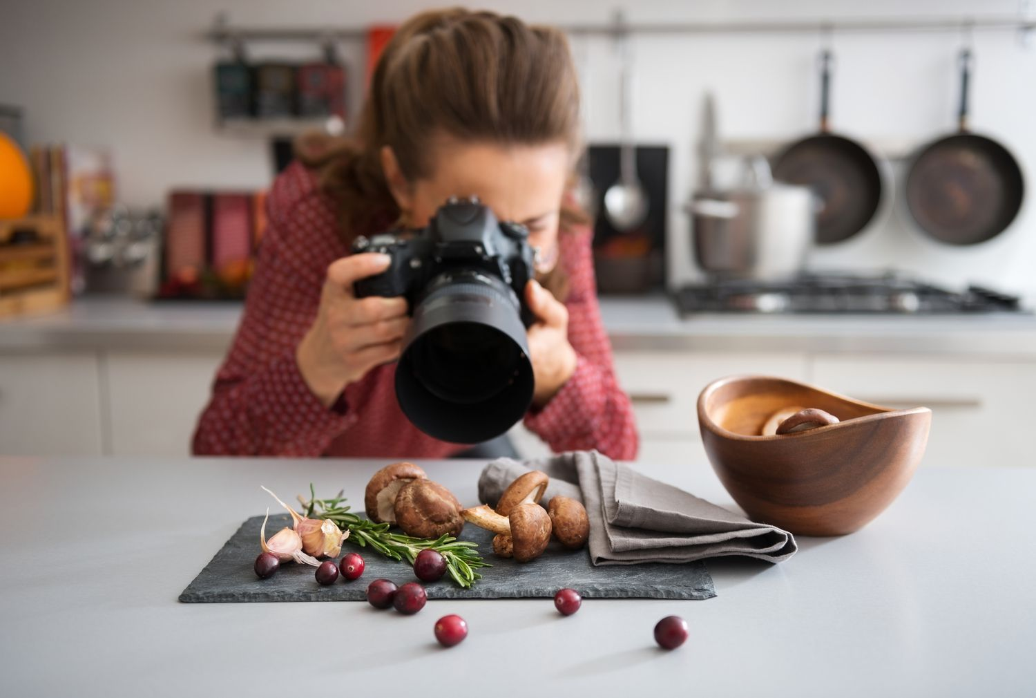 It may seem easy because vegetables aren't moving around, but taking good food photos is really hard.