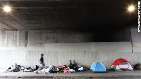 Los Angeles homeless deaths more than doubled since 2013, report says