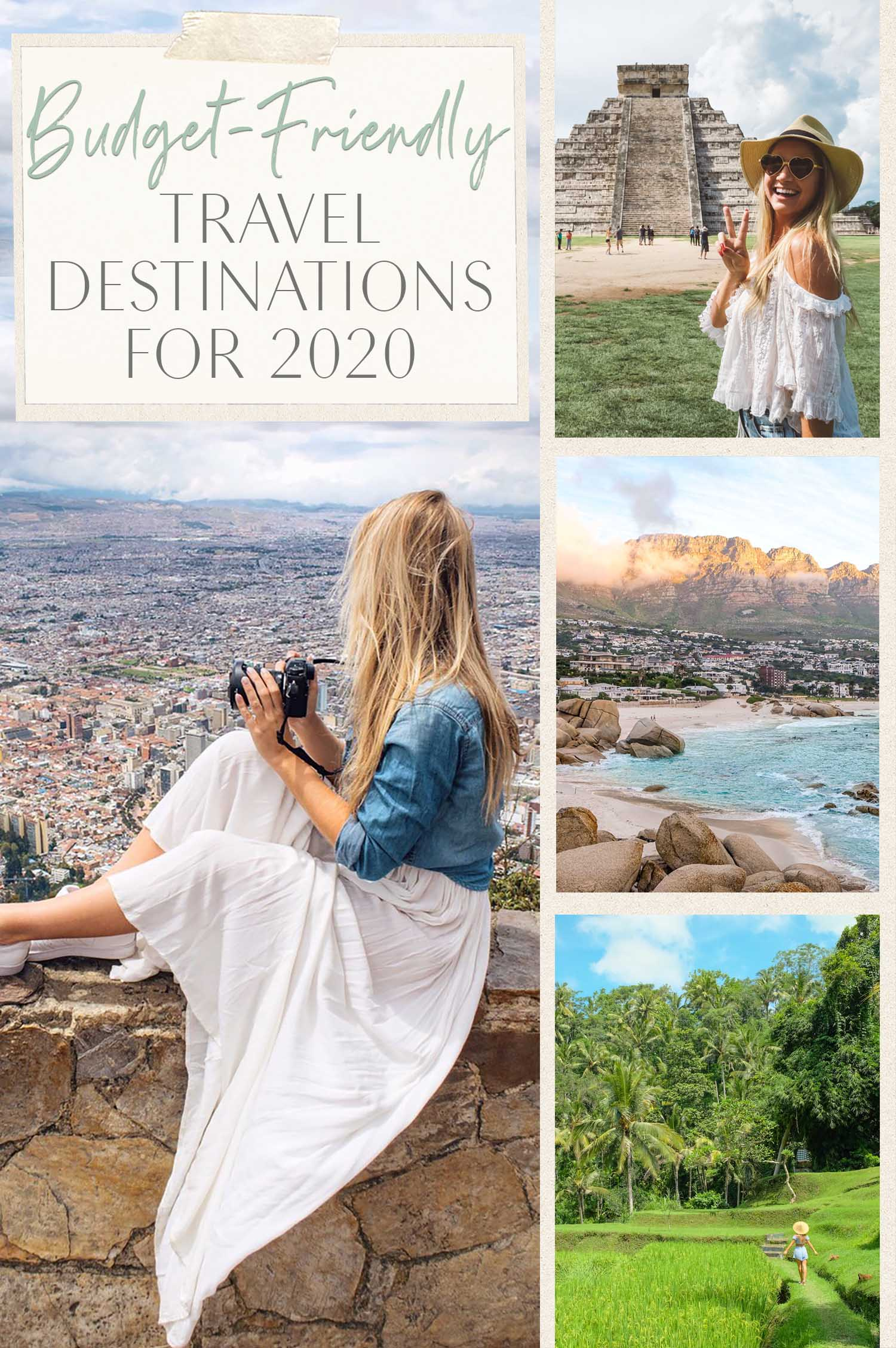 2Budget Friendly Travel Destinations 2020