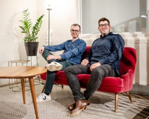 Addressing the issue of sustainability focuses on the interior with Nick Shute and Stefan Dodds, co-founders of Dodds & Shute