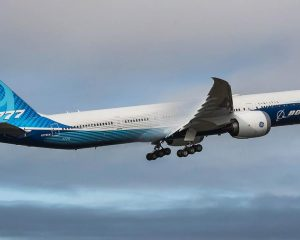 Boeing's huge 777-9X aircraft takes its first flight